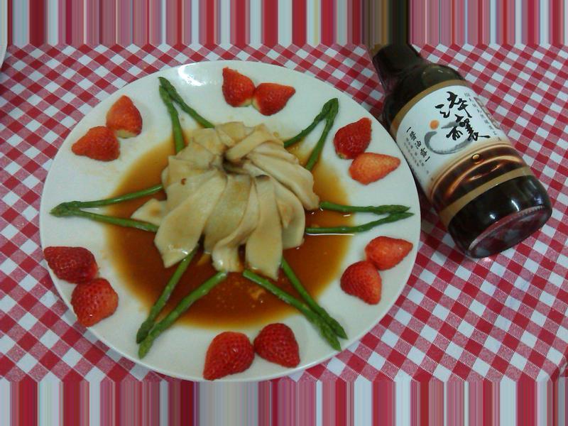 白玉素鮑[淬釀年菜料理]