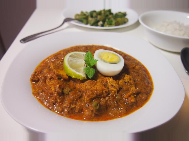印度咖哩雞肉 Curry Chicken Masala