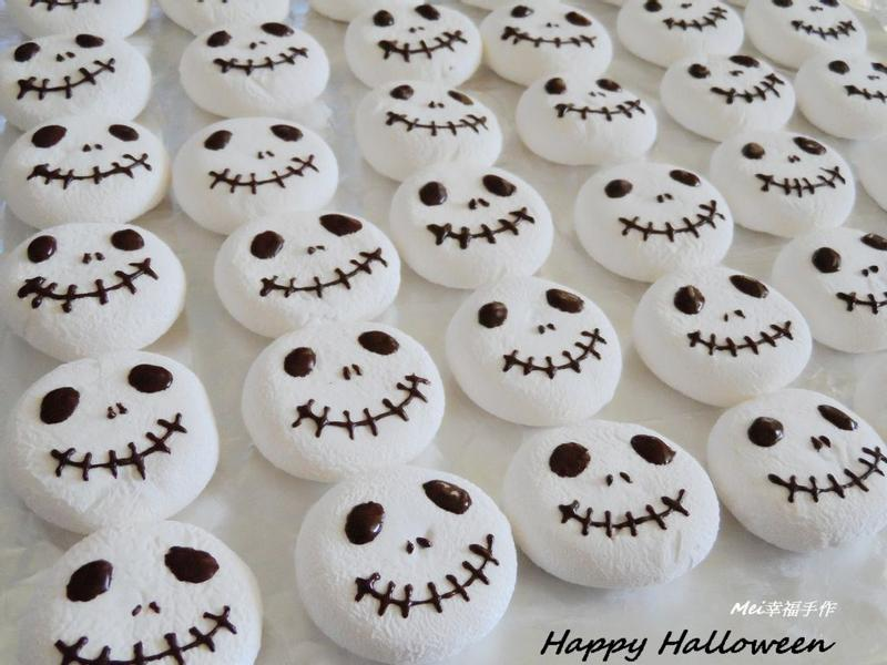 【Halloween傑克棉花糖】