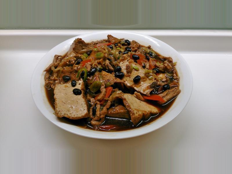 豆豉豆腐(阿基師食譜自己亂改版)