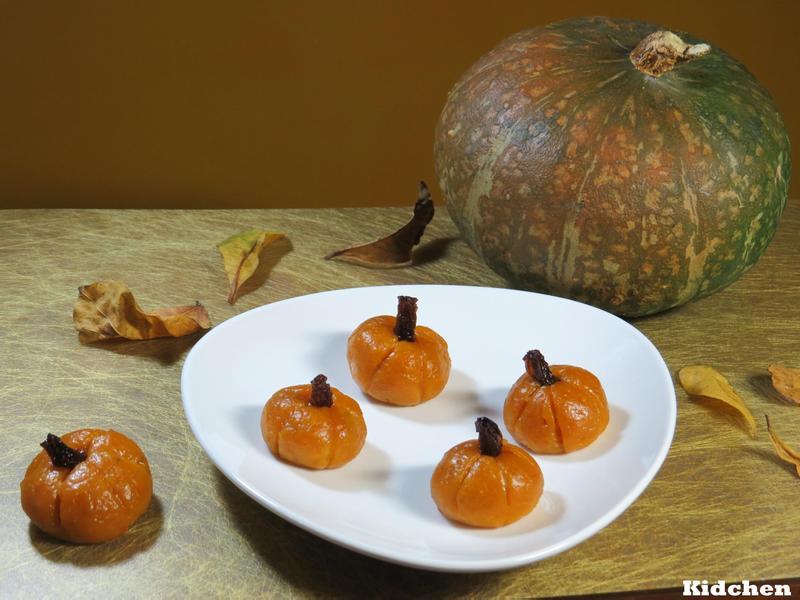 【家宴 佳宴】黑糖南瓜糕 餐桌上的秋