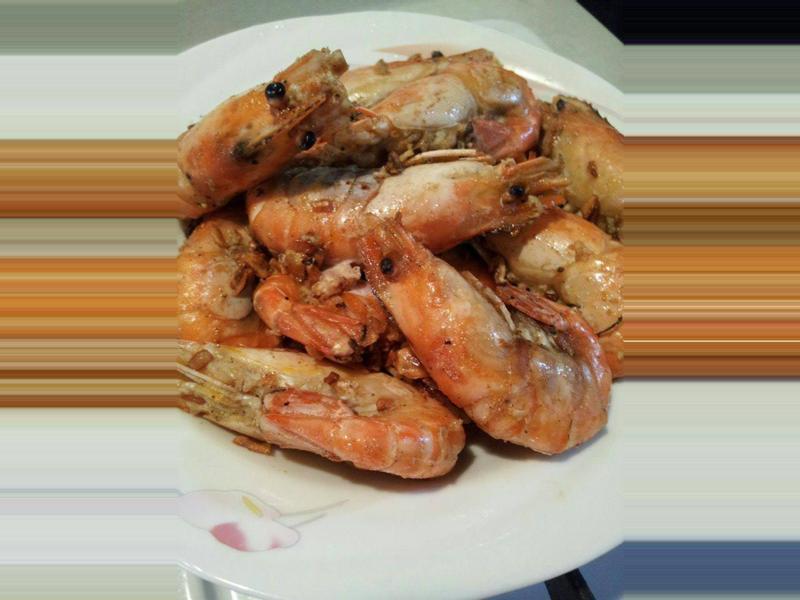~奶油蒜蝦~