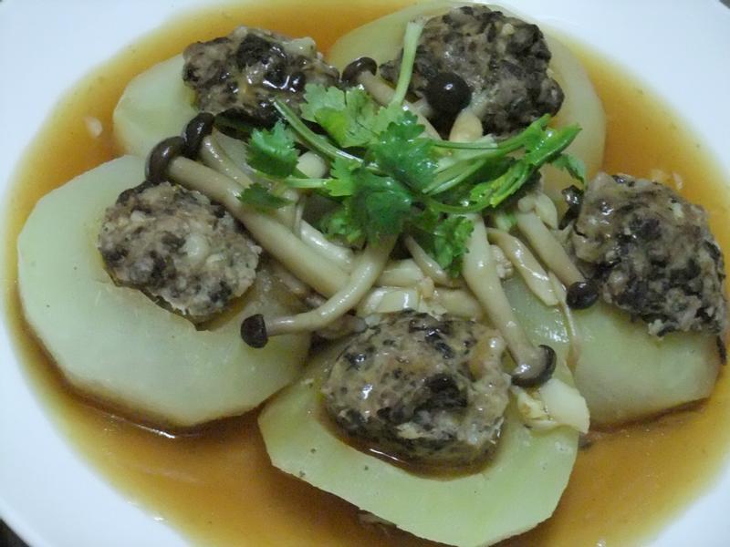 「康寶鮮味炒手鰹魚風味」客家冬瓜梅菜蒸封肉