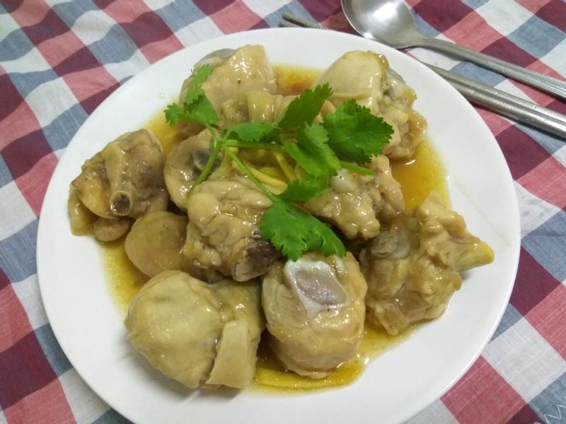 十分鐘上菜─粉蒸雞腿肉