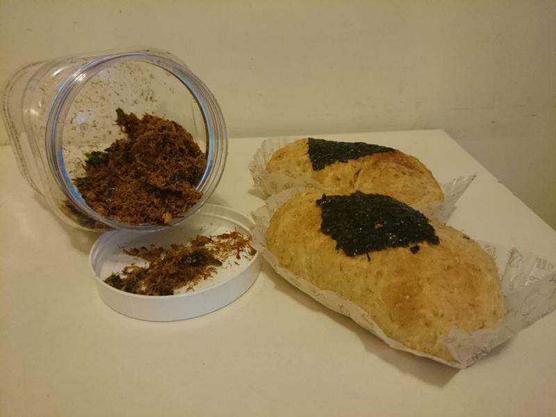 紫菜肉鬆包(附肉鬆食譜)