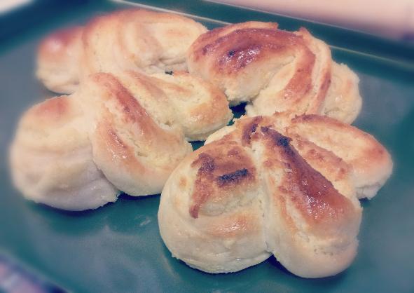 懷念的滋味-鬆軟湯種椰子麵包