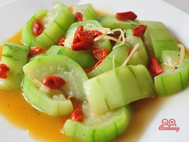 麻油枸杞絲瓜