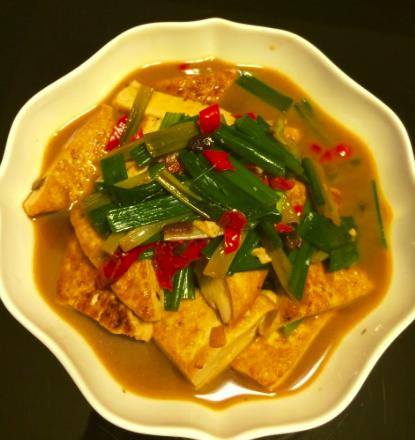 10分鐘好菜-松露醬油 醬燒豆腐