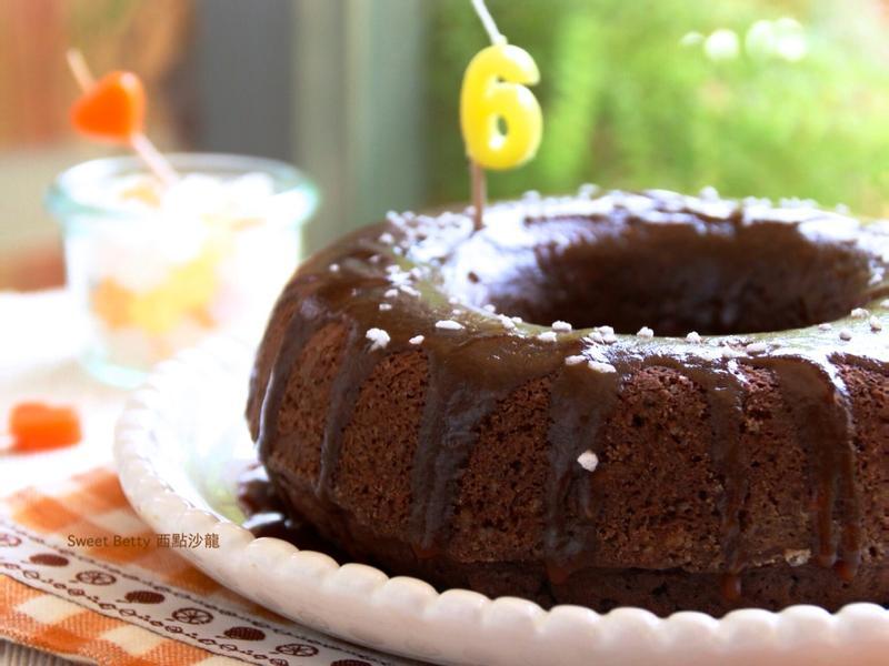 咖啡巧克力奶油蛋糕