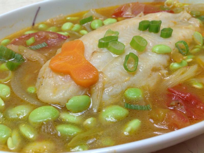 茄汁多利魚排: