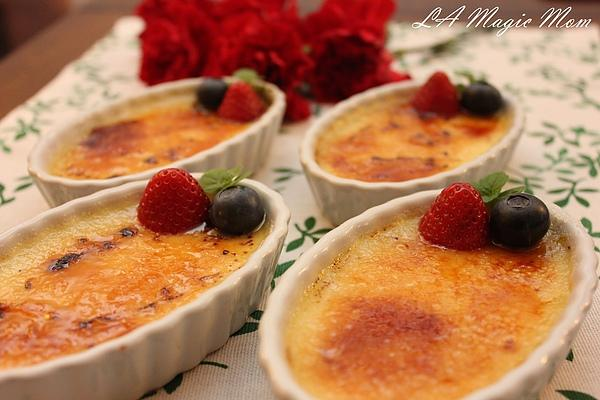 法式烤布雷(crème brulee)