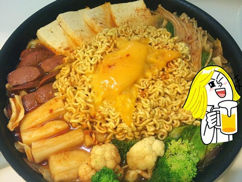 融化起司超好吃韓式部隊鍋