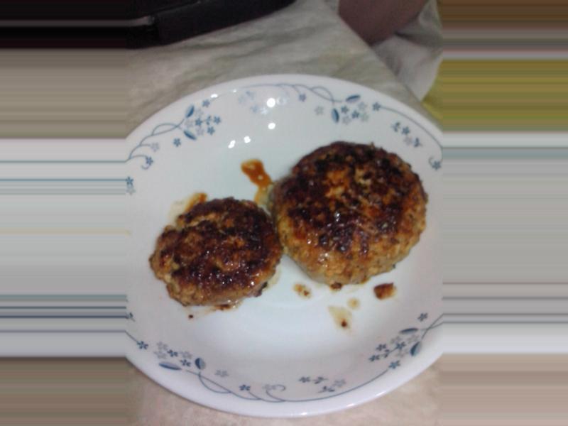 親子活動 -日式豆腐漢堡扒 (1-2人份量)