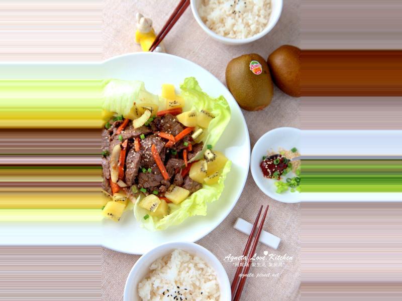 [阿妮塔♥yummy] 奇異果韓式燒烤BBQ醃醬。