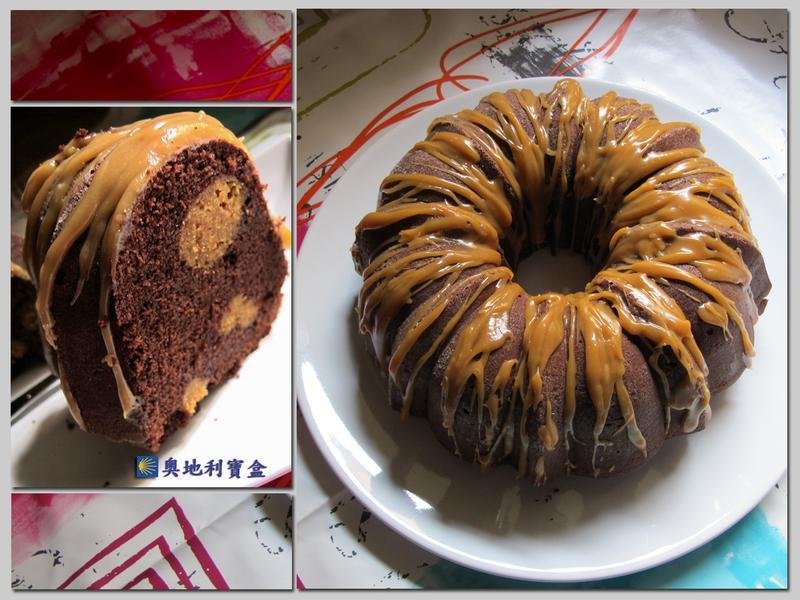 花生夾心 巧克力磅蛋糕