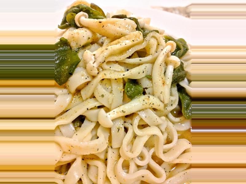 【上班族燜燒罐料理】蕎麥黑蔴鮮麵