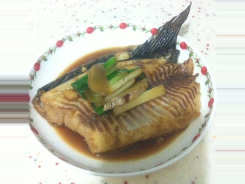 蔥燒魚@[淬釀決勝料理]