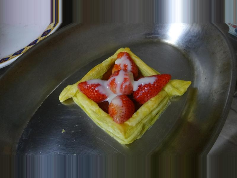 甜甜幸福草莓派──草莓就愛鷹牌煉奶