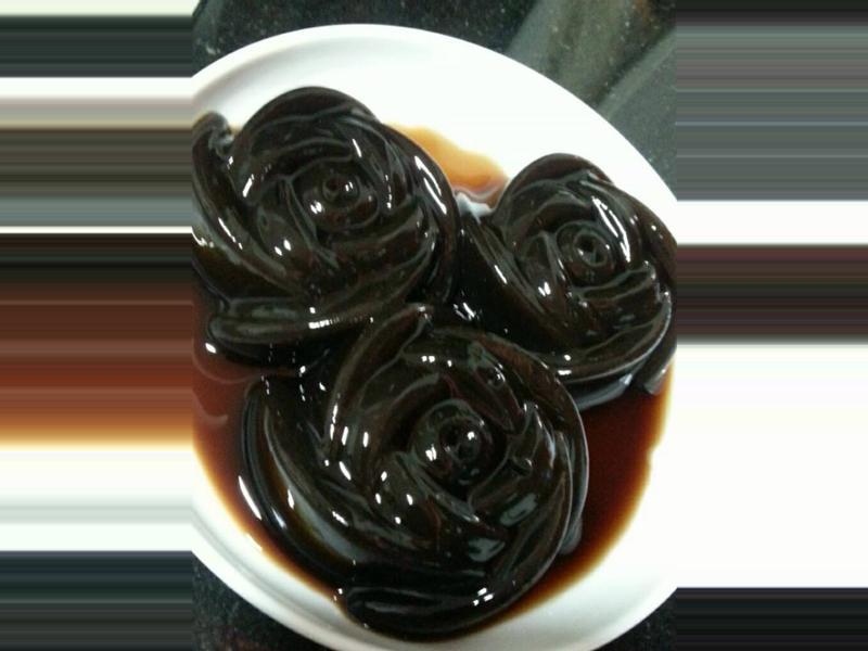 玫瑰龟苓膏