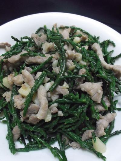 炒海蘆筍samphire