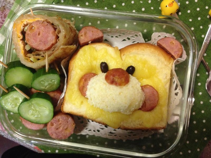 熊熊早餐盒