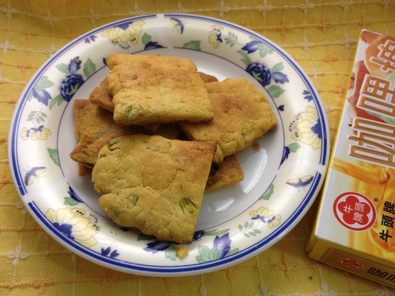[牛頭牌咖哩塊]咖哩香蔥鹹酥餅