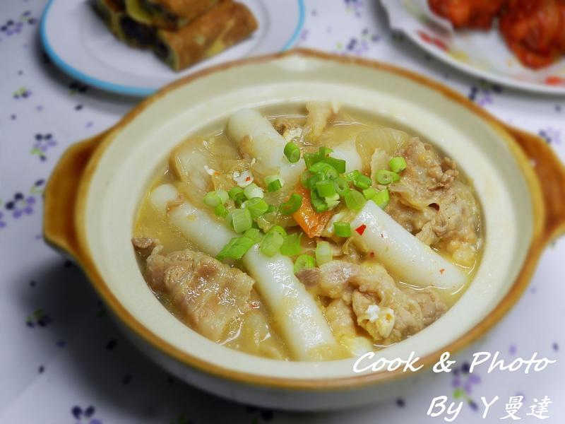 泡菜年糕拉麵