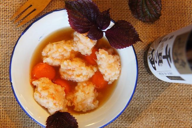 「時間淬釀的甘露之味」和風干貝蝦球甘露煮