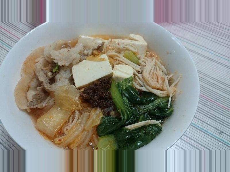 泡菜豬肉冬粉