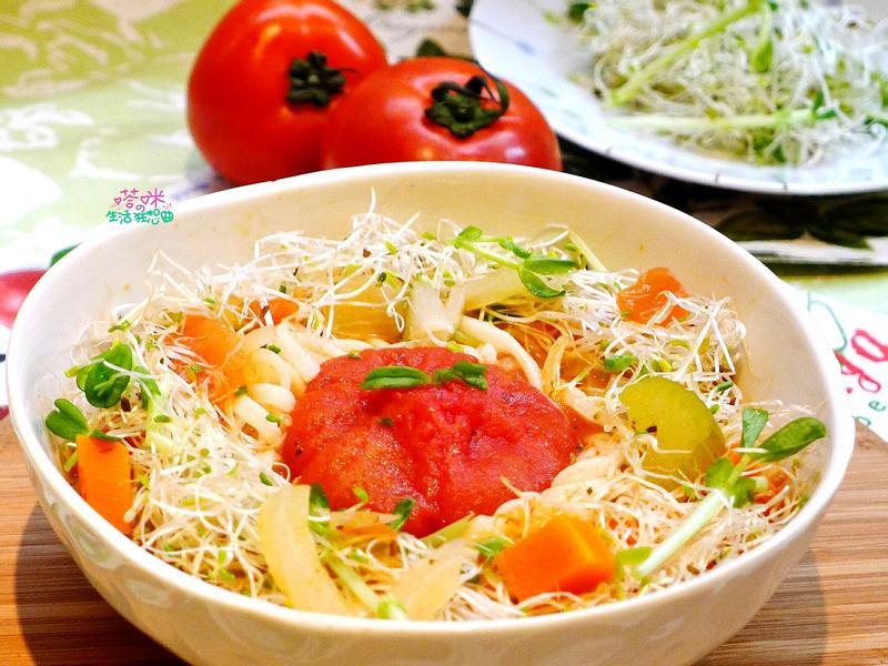 田園番茄鮮蔬湯麵