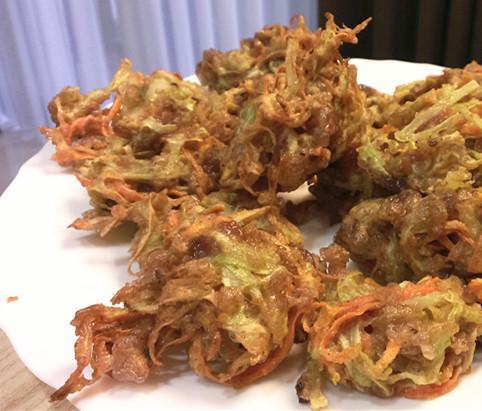 年糕蔬菜炸物 ~自己做日本製麵館天婦羅