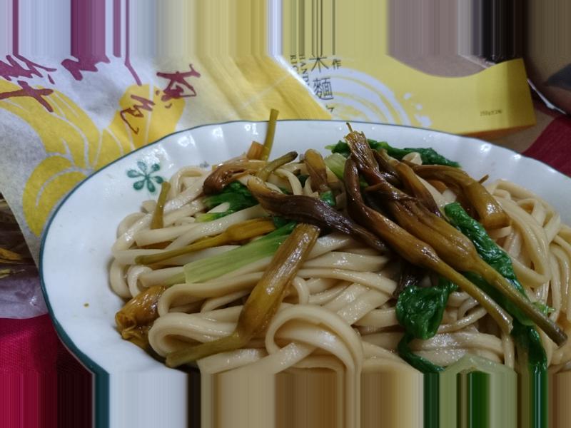 【臺東農產好料理】金針拌乾麵
