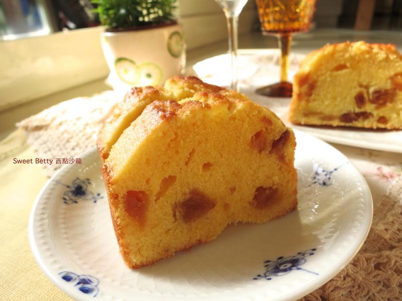 百香果鳳梨磅蛋糕