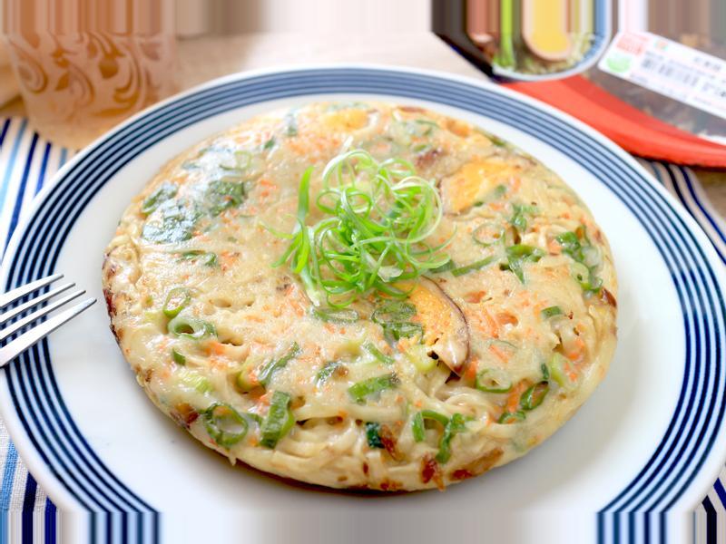 雞蛋意麵蛋餅【小七古早味大變身】