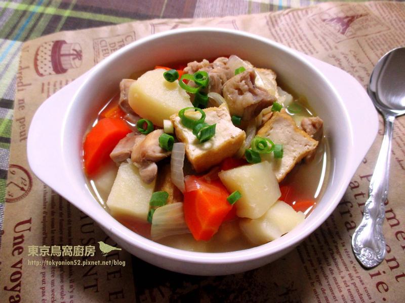 日式馬鈴薯燉雞