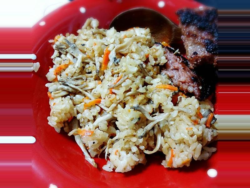 #電鍋料理#鴻喜菇炊飯