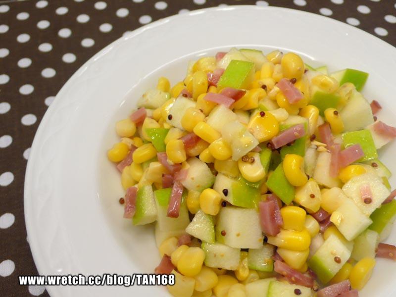 玉米涼拌青蘋果 ♥冷盤涼拌1♥ 綠巨人黃金玉米鑽石規格