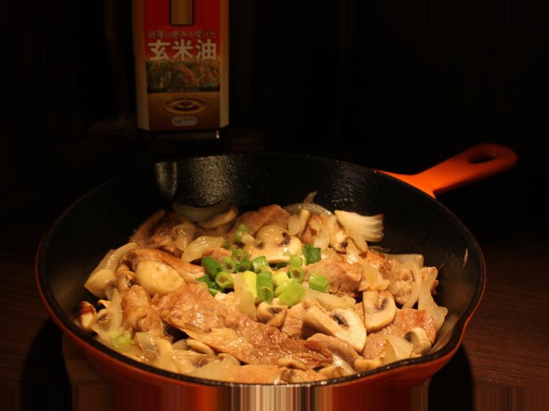 蘑菇洋蔥豬排【味蕾周記】