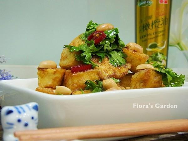 低卡黃金豆腐-泰山橄欖油