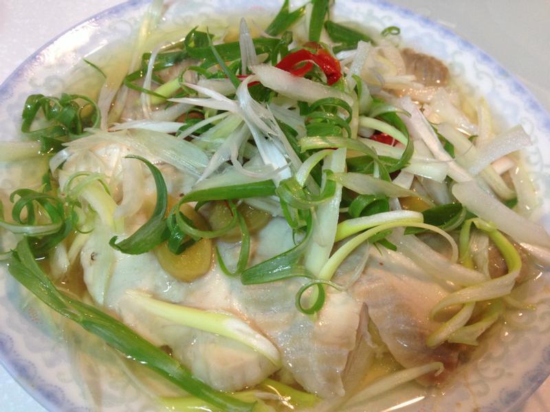 [大同電鍋料理]清蒸破布子鯛魚片