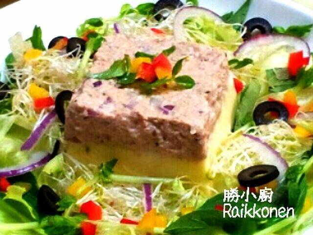 【桂冠夏至涼拌】 鮪魚芙蓉沙拉