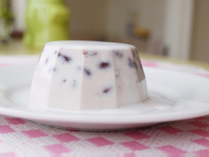 港式椰奶紅豆糕