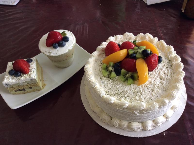 宇治金時慕斯蛋糕