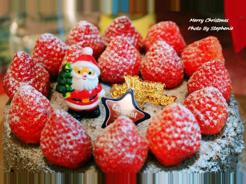 Q版~草莓巧克力奶油蛋糕