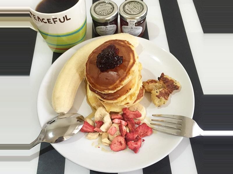 美式鬆餅早餐