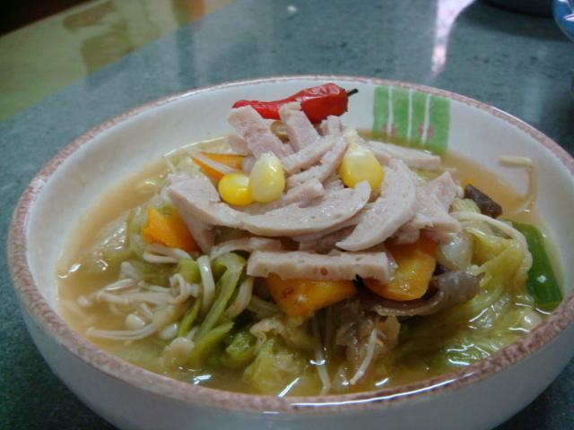 香菇白菜魯