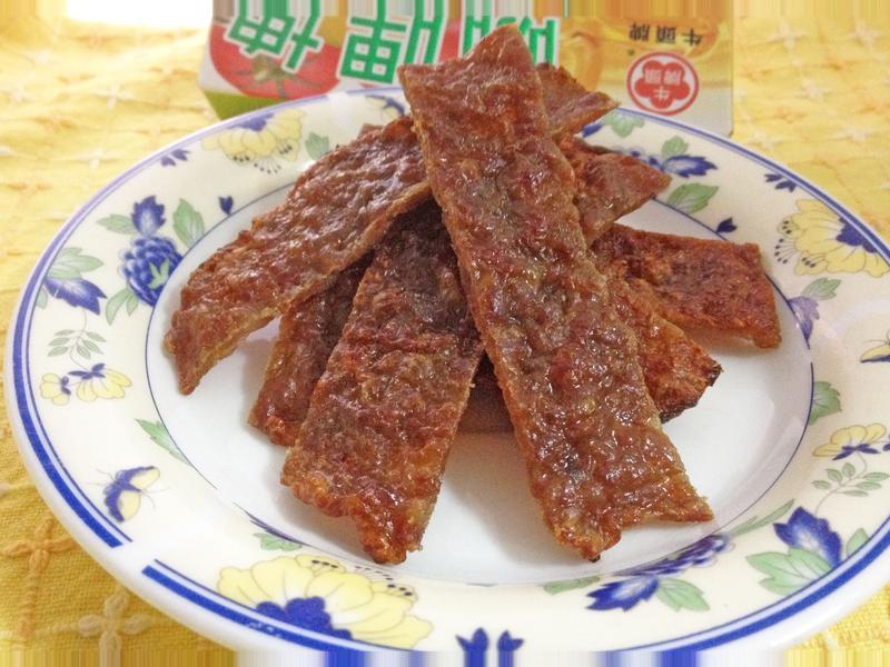 [牛頭牌咖哩塊]咖哩蜜汁豬肉乾