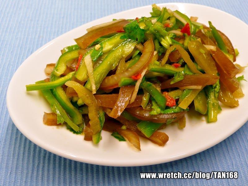 【熟菜改造11】青椒涼拌滷味