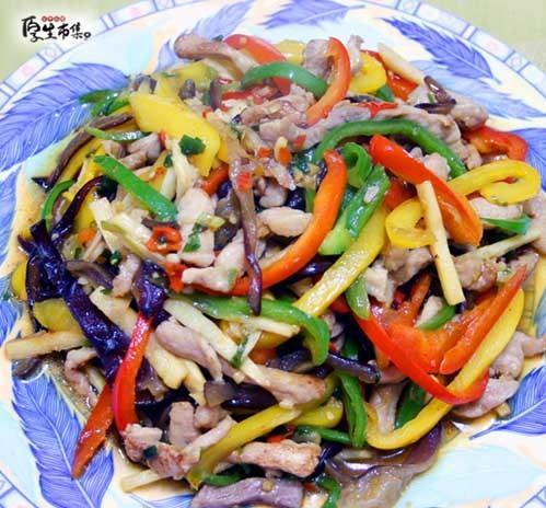 【厚生廚房】魚香肉絲