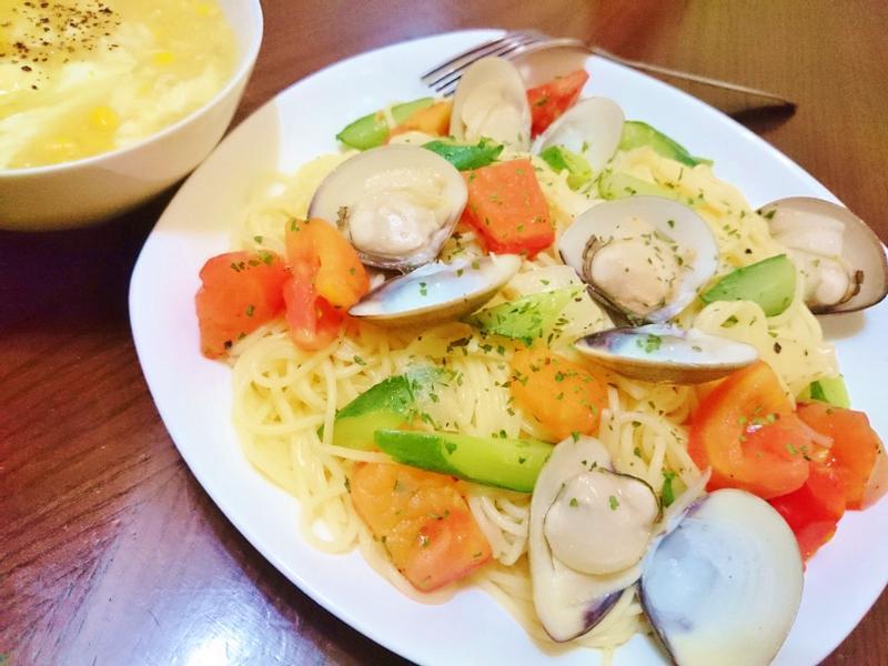 蛤蜊義大利細麵